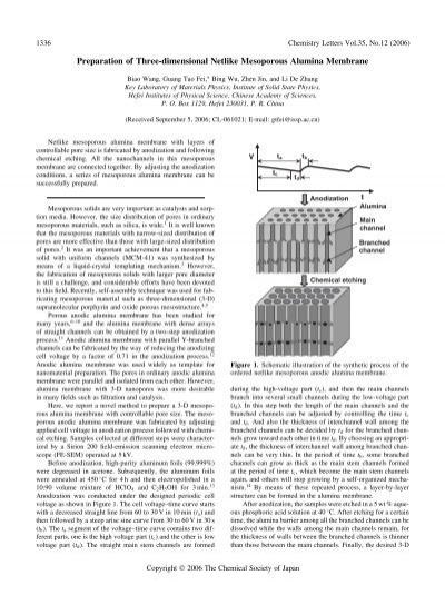 Global Bahan Nanoporous Market 1