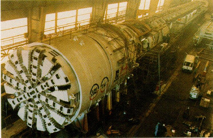 Global Mesin Bor Tunnel Hibrid TBM Market