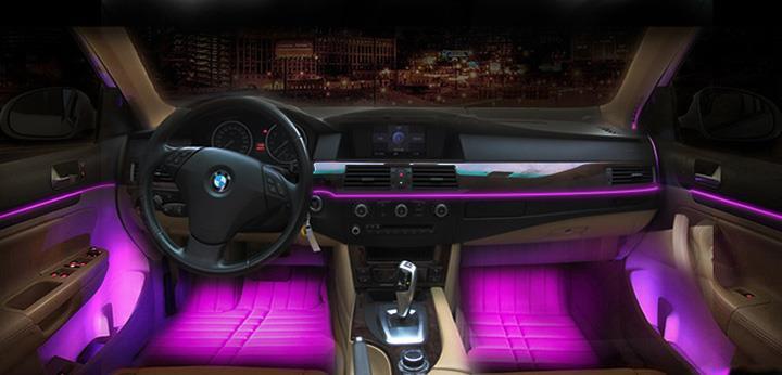 Global Pencahayaan Ambient Otomotif Market