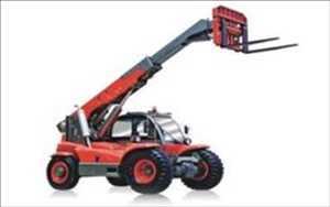 Truk Forklift Boom Teleskopik Pasar