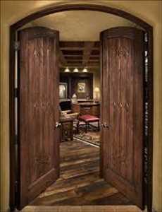 Pintu Interior Kayu Pasar