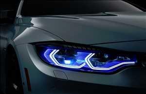 Lampu Laser Otomotif
