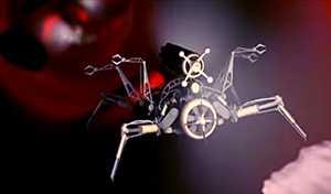 Global Robot Nano 3D Virtual Wawasan Pasar